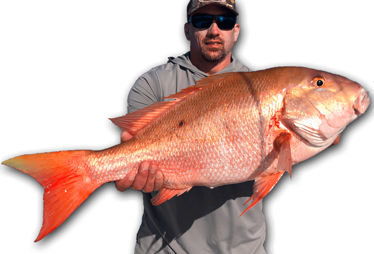 An image of a florida keys angler with a large mutton snapper.
