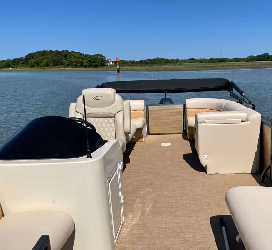 An image of our custom Chesapeake Bay boat tours vessel here at Tidewater Charters!